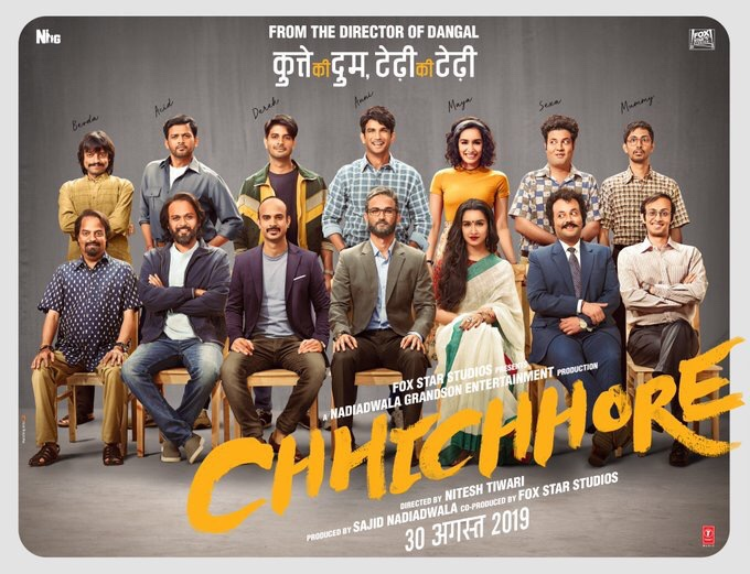 'Chhichhore' Trailer Dropped On Networks