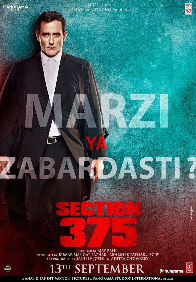 Akshaye Khanna Making A Come Back With 'Section 375'