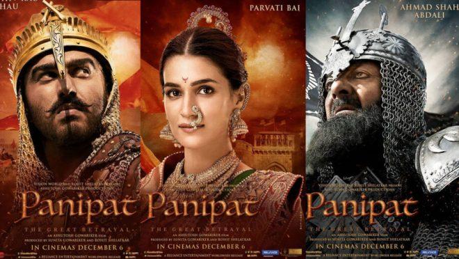 Stars share Panipat's first look