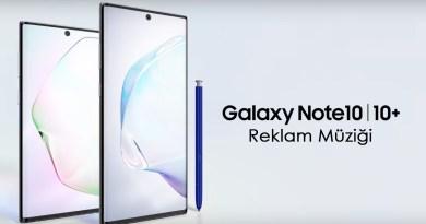 Samsung Galaxy Note10 Reklamında Çalan Şarkı