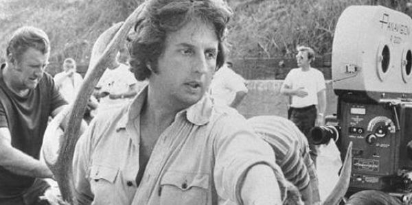 Cimino on the set of Heaven's Gate