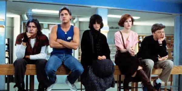 The Breakfast Club (1985) - source: A&M Films