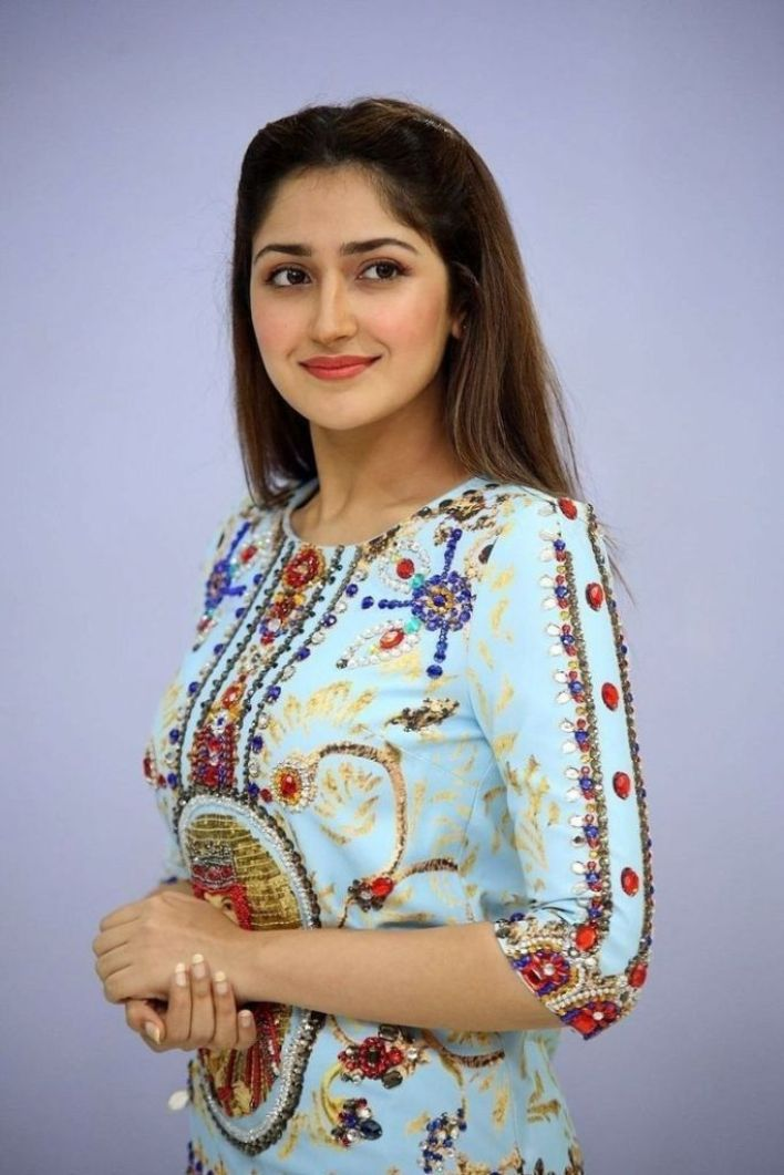72+ Charming Photos of Sayesha Saigal 2