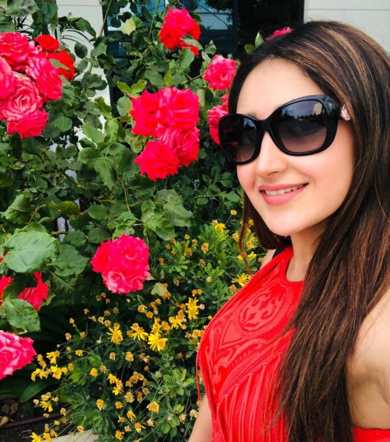 72+ Charming Photos of Sayesha Saigal 111