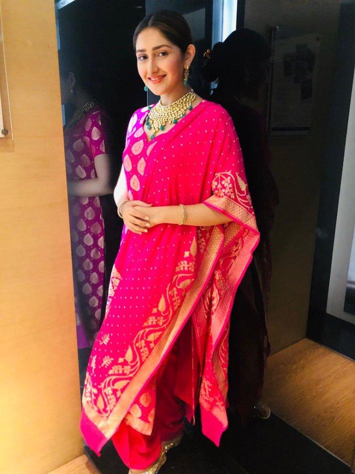 72+ Charming Photos of Sayesha Saigal 47