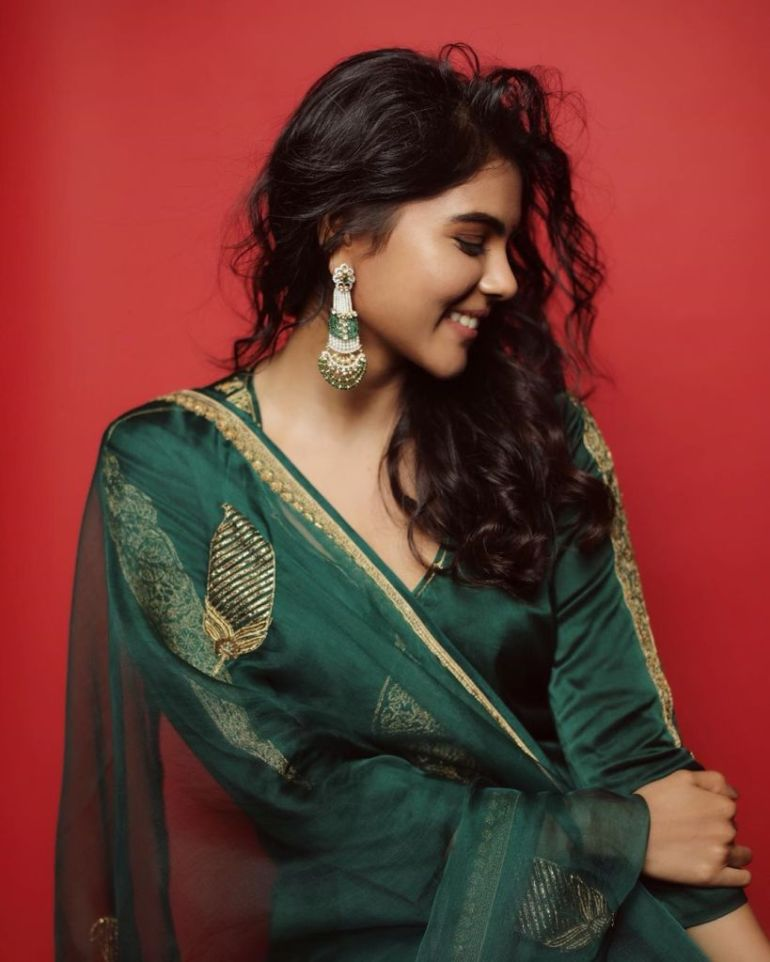 44+ Cute Photos of Kalyani Priyadarshan 114