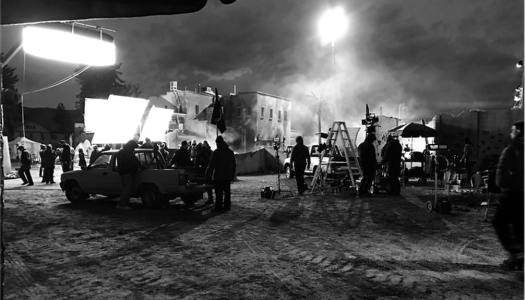 Image of a film set. Find Film Jobs