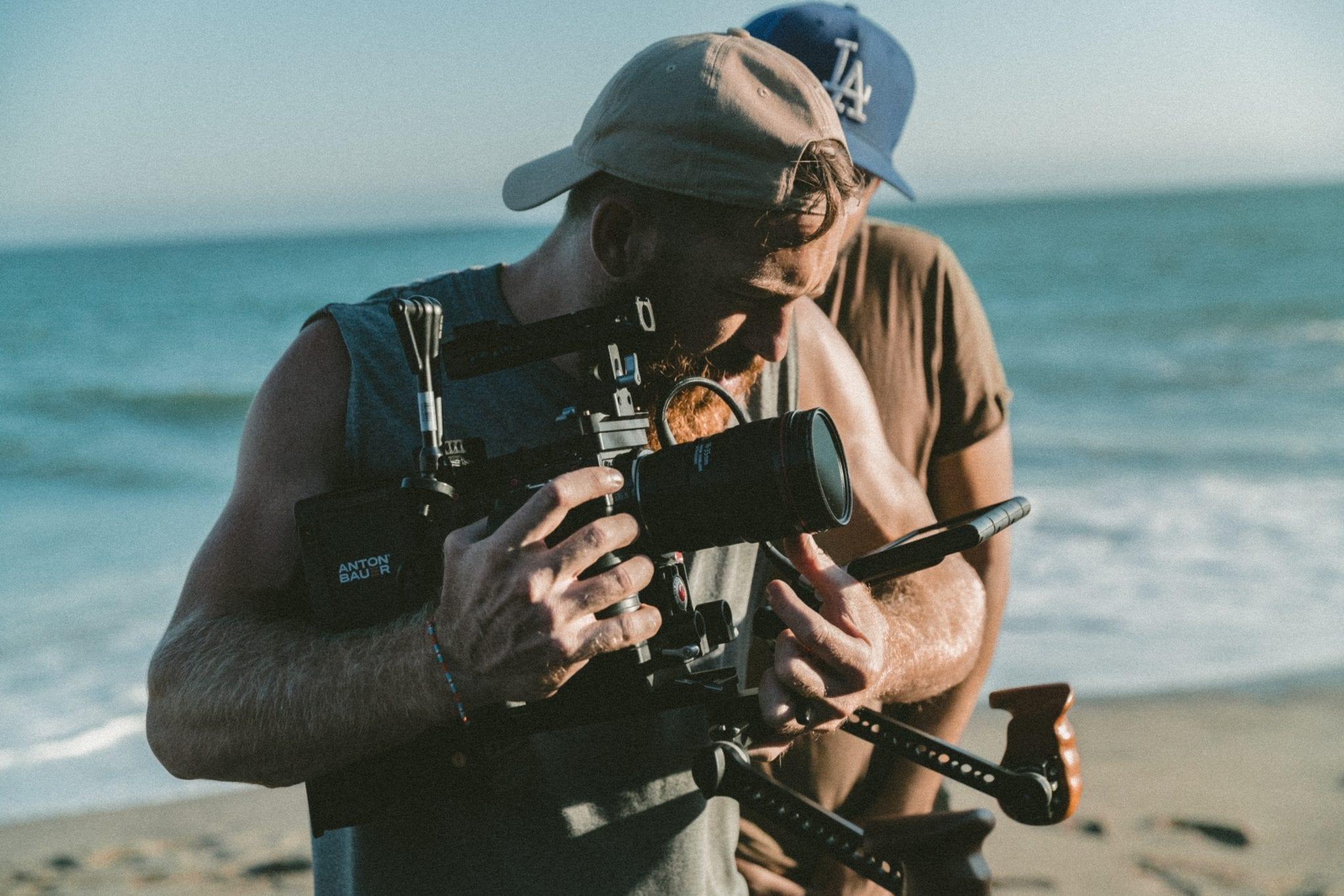 A freelance filmmaker. Start your career in the film industry