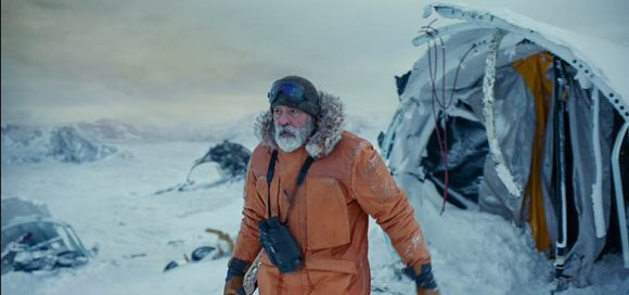 George Clooney in Iceland in Midnight Sky