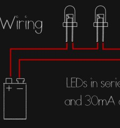 we can even mix and match leds that have the same current draws but different voltages say take a green and blue rated for between 3 and 3 3 and wire it  [ 1725 x 951 Pixel ]