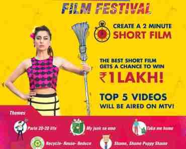 mtv short film festival free submission