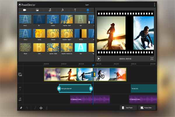 Power Director Video Editor Android App: screenShot
