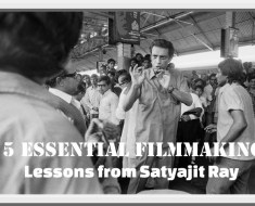 filmmaking lessons satyajit-ray