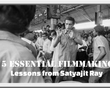 filmmaking lessons satyajit-ray
