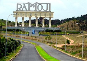 Ramoji Film city Hyderabad film shooting location