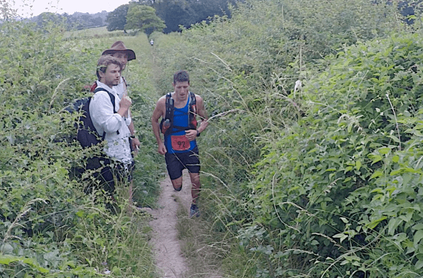 North Downs Way Marathon