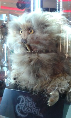 Fizzgig puppet from The Dark Crystal
