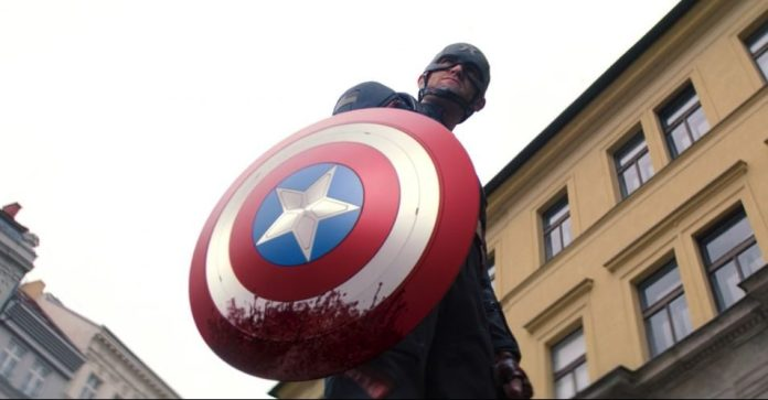 The Falcon and The Winter Soldier John Walker Captain America (Wyatt Russel)