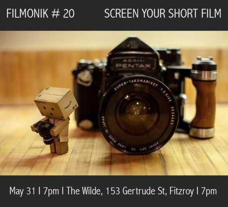 Come one, come all #Filmonik20