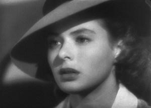 Ingrid Bergman a Casablanca (Michael Curtiz, 1943)