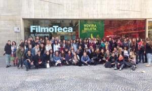 L'INS Miquel Tarradell a la sessió 'Mirades: retrats sense sostre'