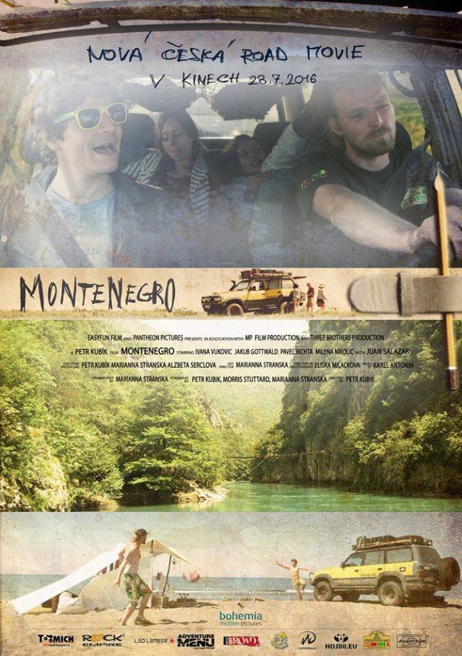 skupina mladých dobrodruhů poznává krásy Černé Hory, brodění v řece, přejezdy přes staré mosty