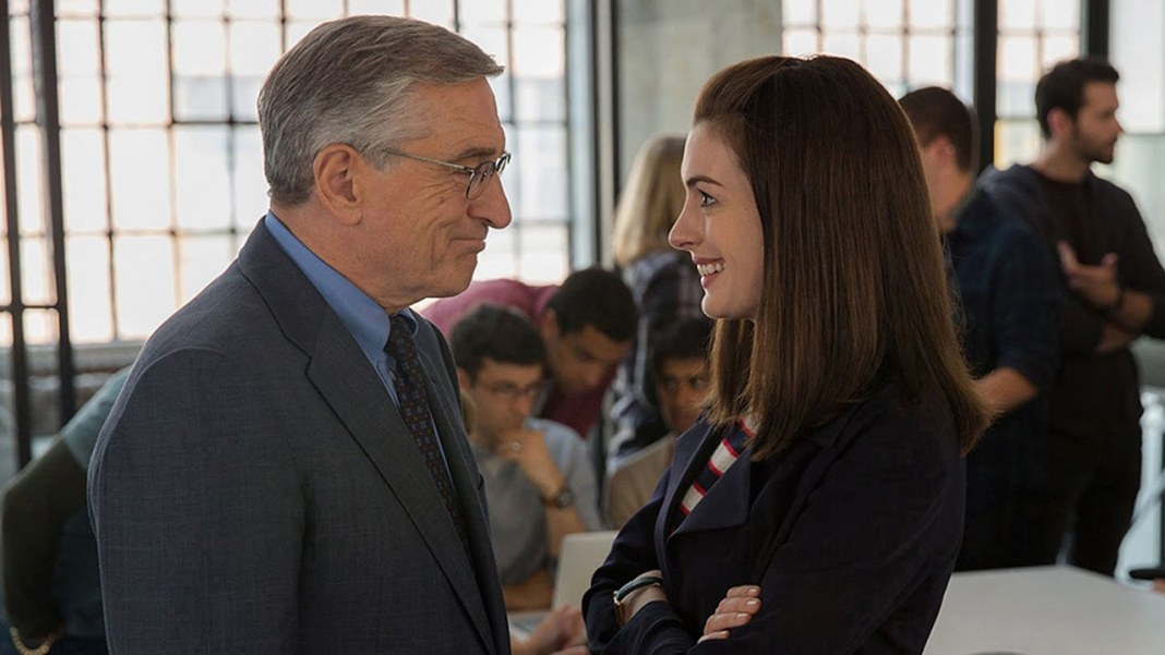 The Intern starring Robert De Niro & Anne Hathaway