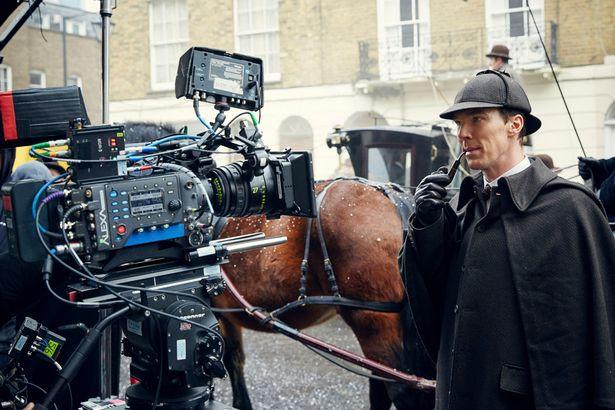 Benedict Cumbarbatch as Sherlock