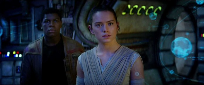 Star Wars The Force Awakens Rey and Finn