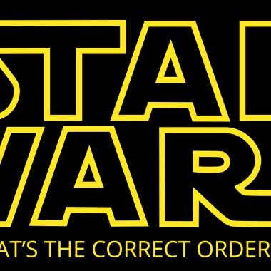 Correct order to watch Star Wars Movies