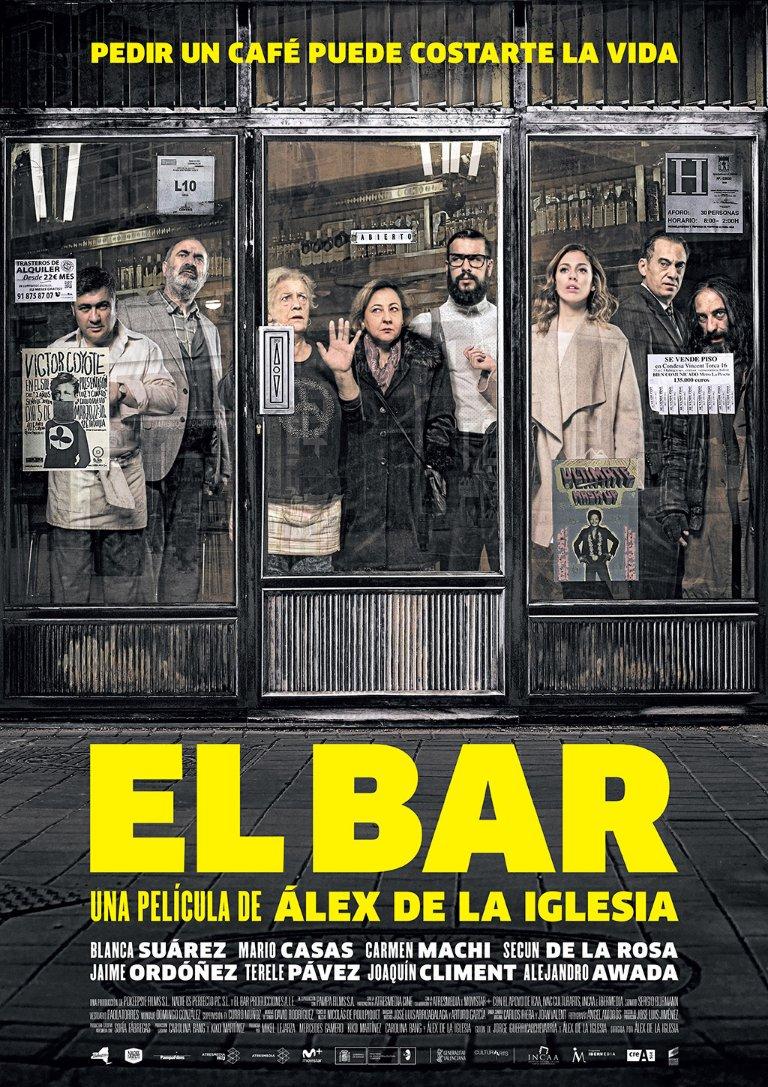 El bar aka The Bar (2017)