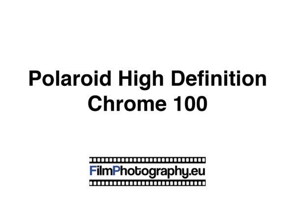Polaroid High Definition Color 200