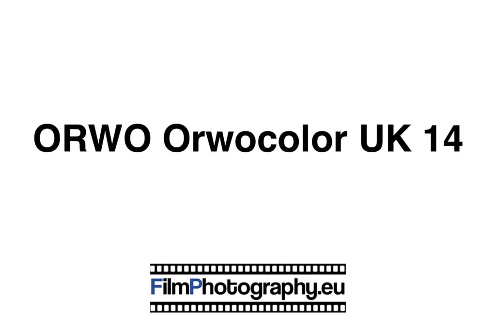 ORWO Orwocolor UK 14