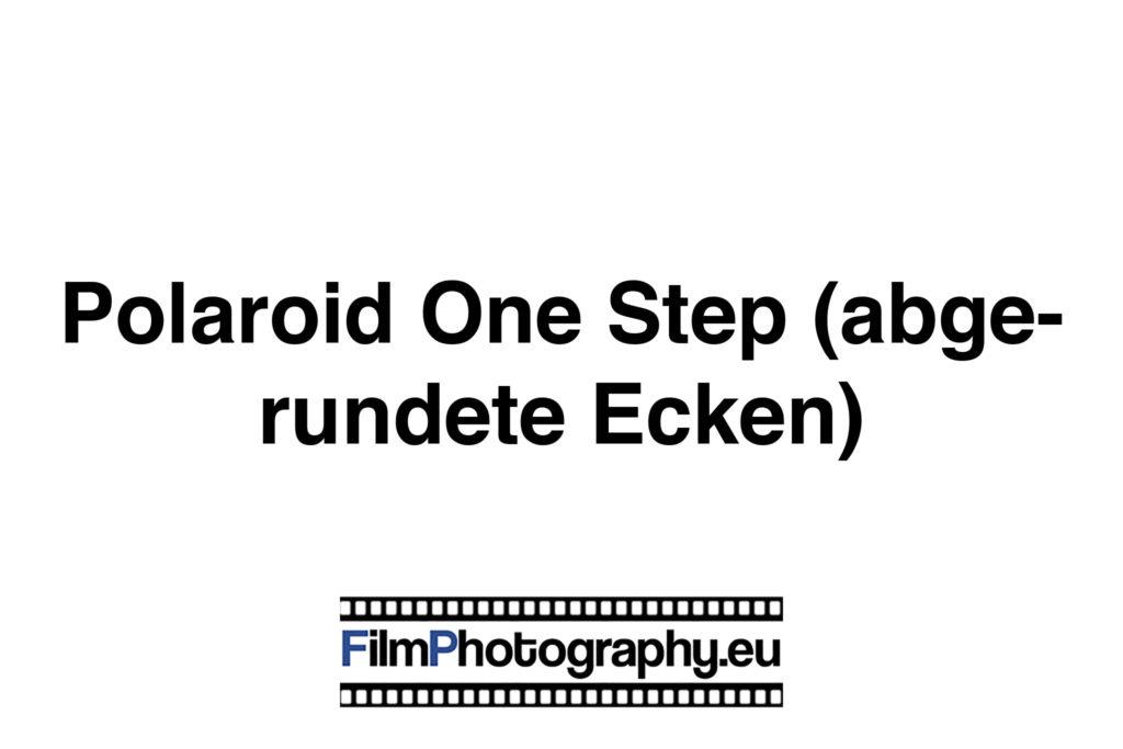 Polaroid One Step (abgerundete Ecken) Sofortbildkamera
