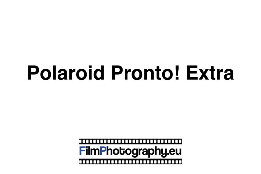 Polaroid Pronto! Extra Land Camera SX-70