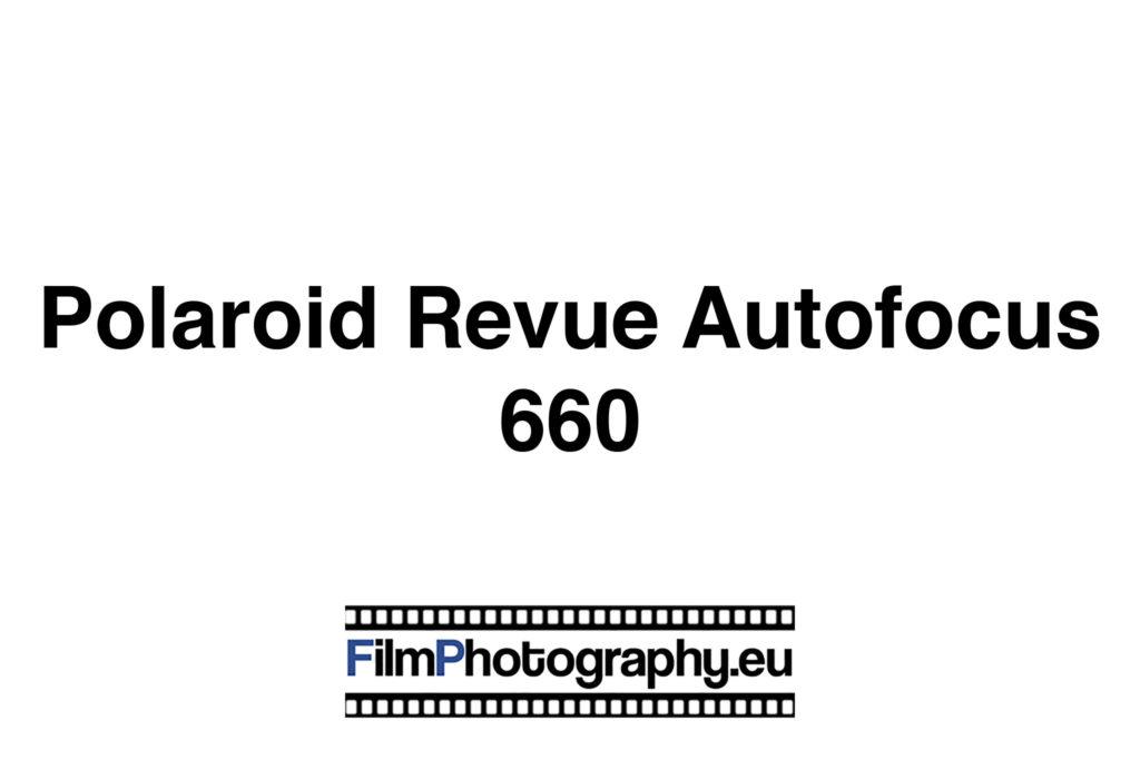 Polaroid Revue Autofocus 660 Sofortbildkamera