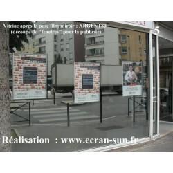 Film Miroir Sans Tain Ou Film D Intimite Miroir Espion Film Pour Vitrage Filmpourvitrage