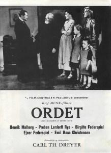 Ordet-Poster