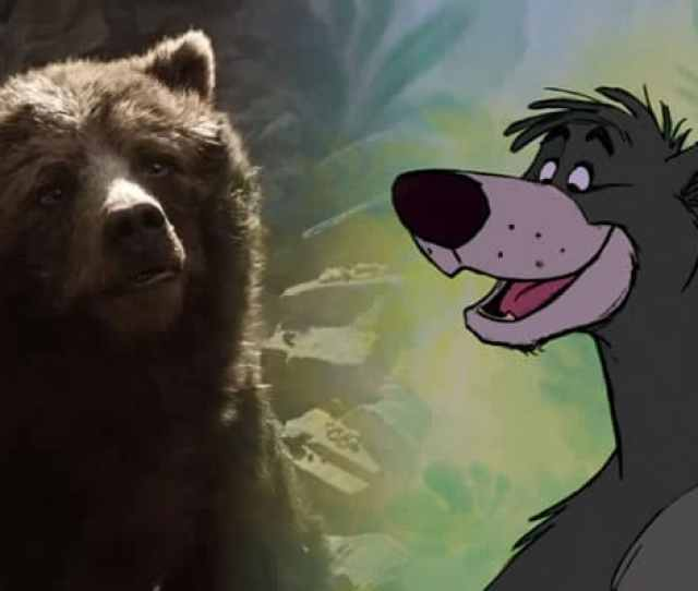 Baloo Voiced By Phil Harris In 1967 And Bill Murray In 2016