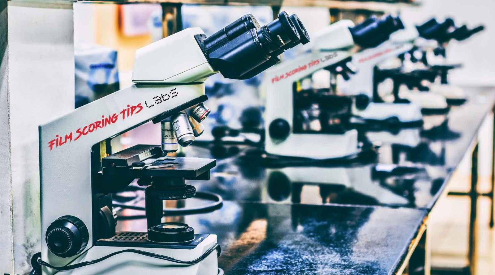 film scoring tips labs