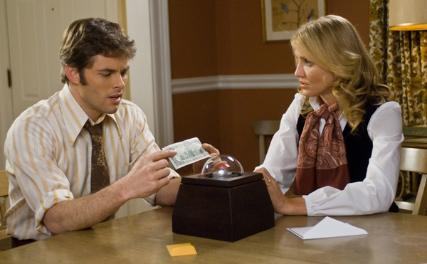 The Box movie image Cameron Diaz and James Marsden day 3