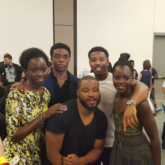 'Black Panther' Cast and Director