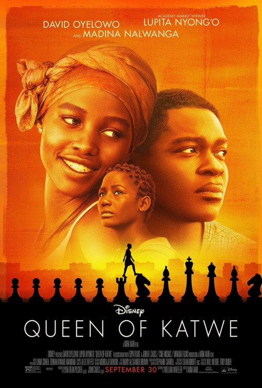 'Queen of Katwe' Film Poster
