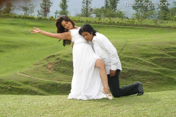 karishma and rajesh hamal  Ho Yo Maya Ho