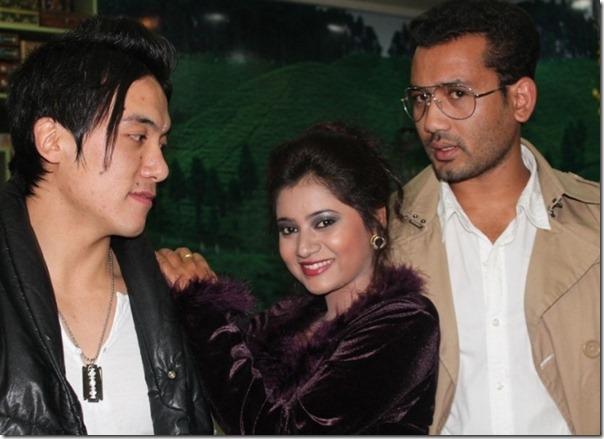leading actors - keki abinash and baboo