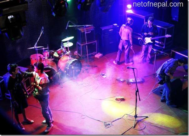mokshya shooting - concert scene