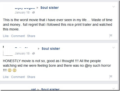 soul sister reviews in facebook 1