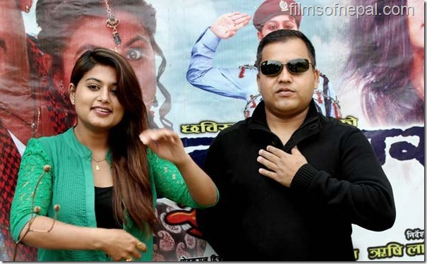 rishi lamichane and shilpa pokharel