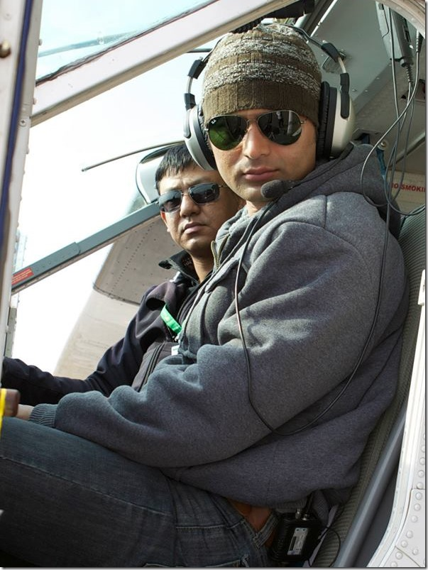 highway to dhumpus shooting rajballav koirala and pilot