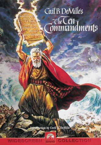'THE TEN COMMANDMENTS (1956).